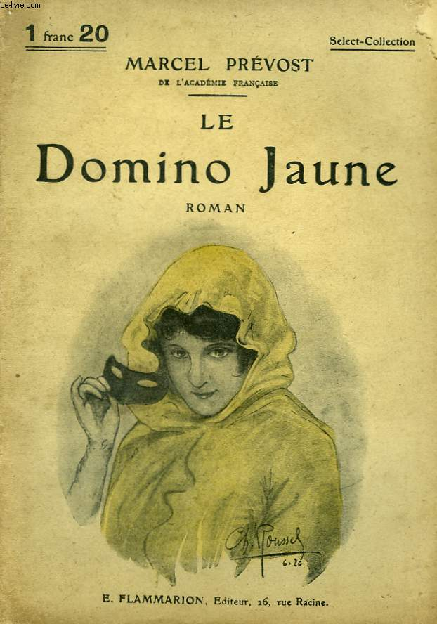 LE DOMINO JAUNE. COLLECTION : SELECT COLLECTION N° 111
