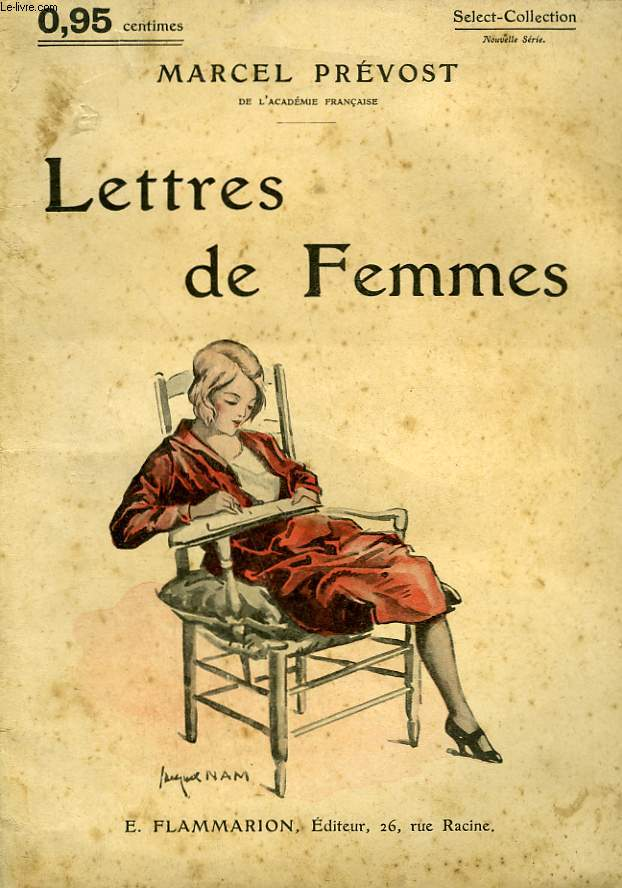 LETTRES DE FEMMES. COLLECTION : SELECT COLLECTION N° 123