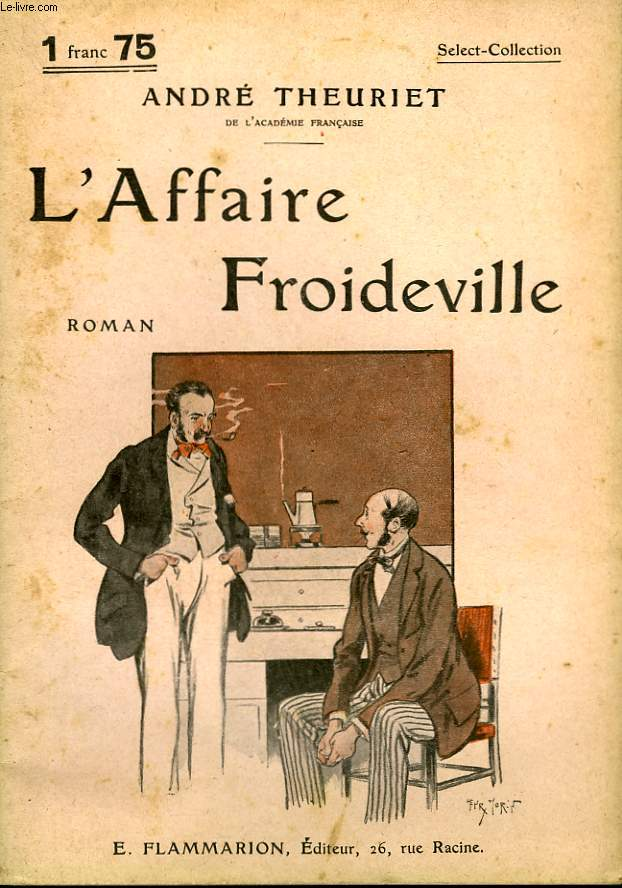 L'AFFAIRE FROIDEVILLE. COLLECTION : SELECT COLLECTION N° 124