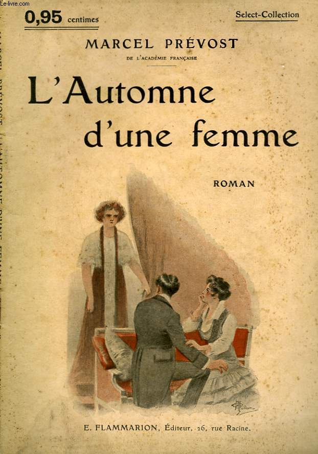 L'AUTOMNE D'UNE FEMME. COLLECTION : SELECT COLLECTION N° 127