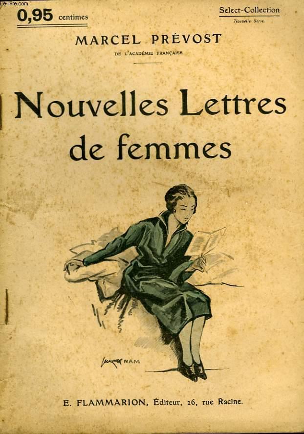 NOUVELLES LETTRES DE FEMMES. COLLECTION : SELECT COLLECTION N° 135