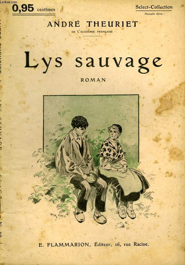 LYS SAUVAGE. COLLECTION : SELECT COLLECTION N° 140