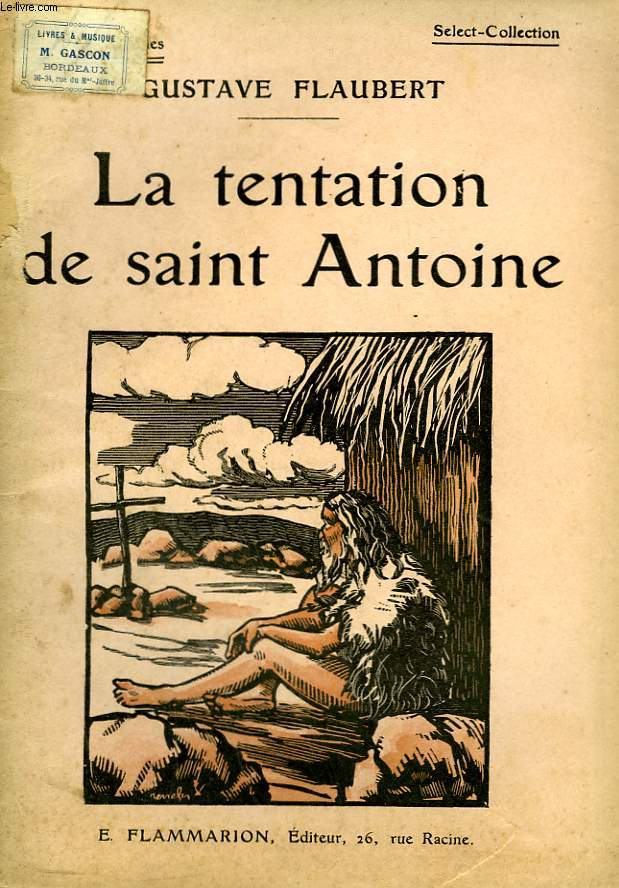 LA TENTATION DE SAINT ANTOINE. COLLECTION : SELECT COLLECTION N° 181