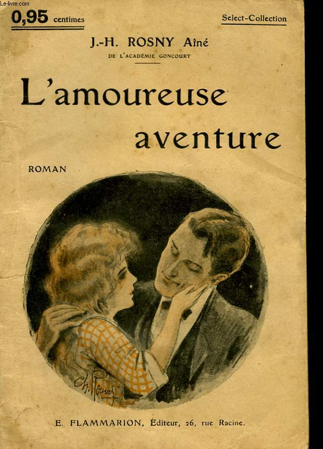 L'AMOUREUSE AVENTURE. COLLECTION : SELECT COLLECTION N° 191
