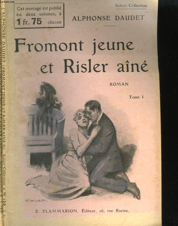 FROMONT JEUNE ET RISLER AINE. COLLECTION : SELECT COLLECTION N° 192 ET 193.