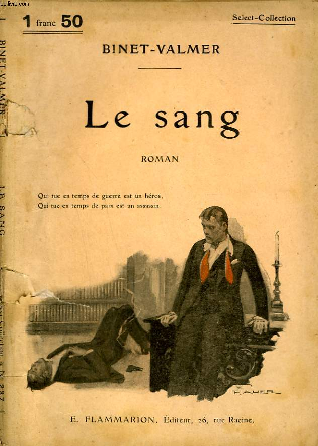 LE SANG. COLLECTION : SELECT COLLECTION N° 237