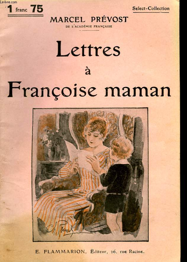 LETTRES A FRANCOISE MAMAN. COLLECTION : SELECT COLLECTION N° 270