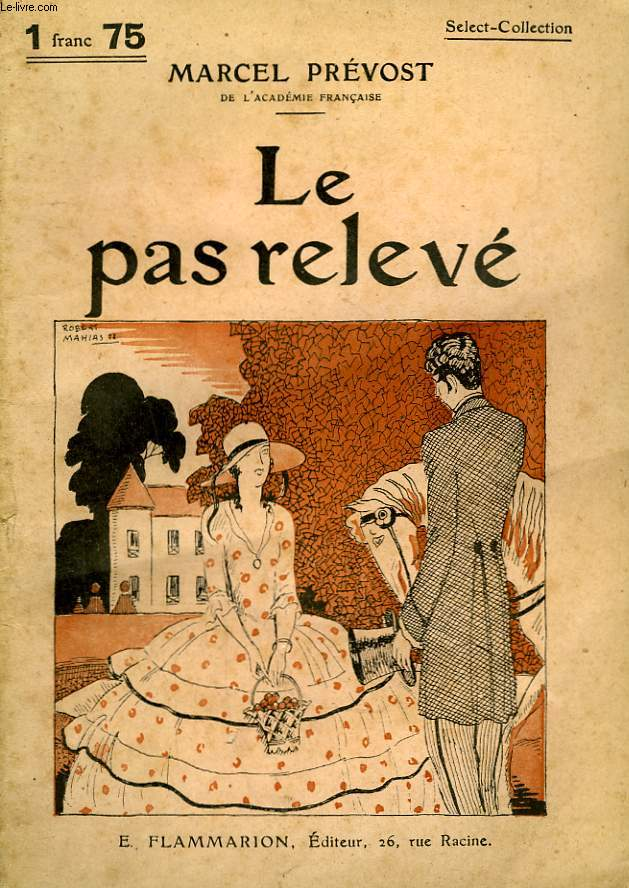 LE PAS RELEVE. COLLECTION : SELECT COLLECTION N° 289