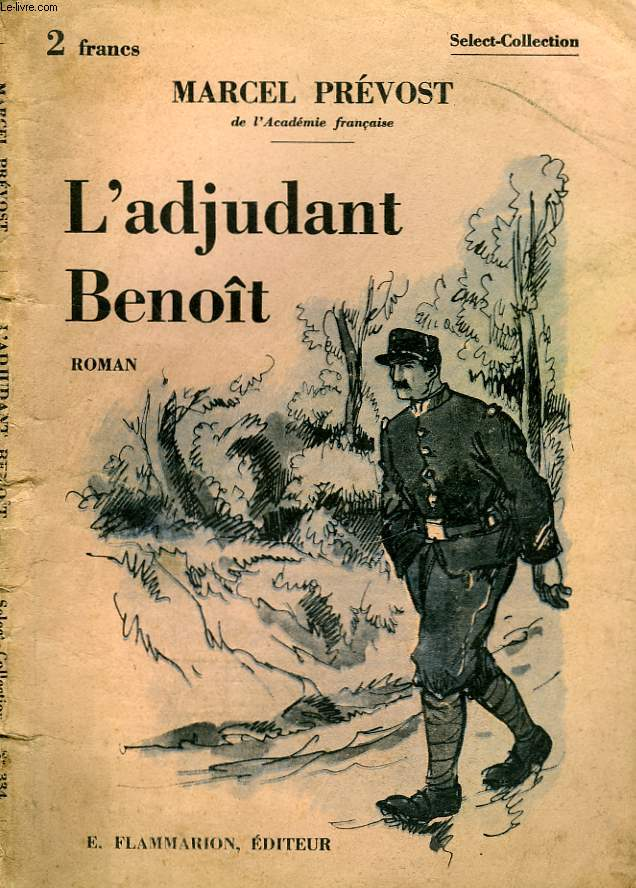 L'ADJUDANT BENOIT. COLLECTION : SELECT COLLECTION N° 334