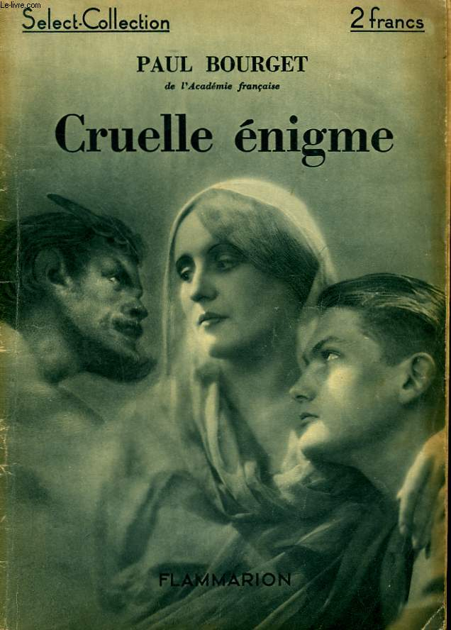CRUELLE ENIGME. COLLECTION : SELECT COLLECTION N° 9.