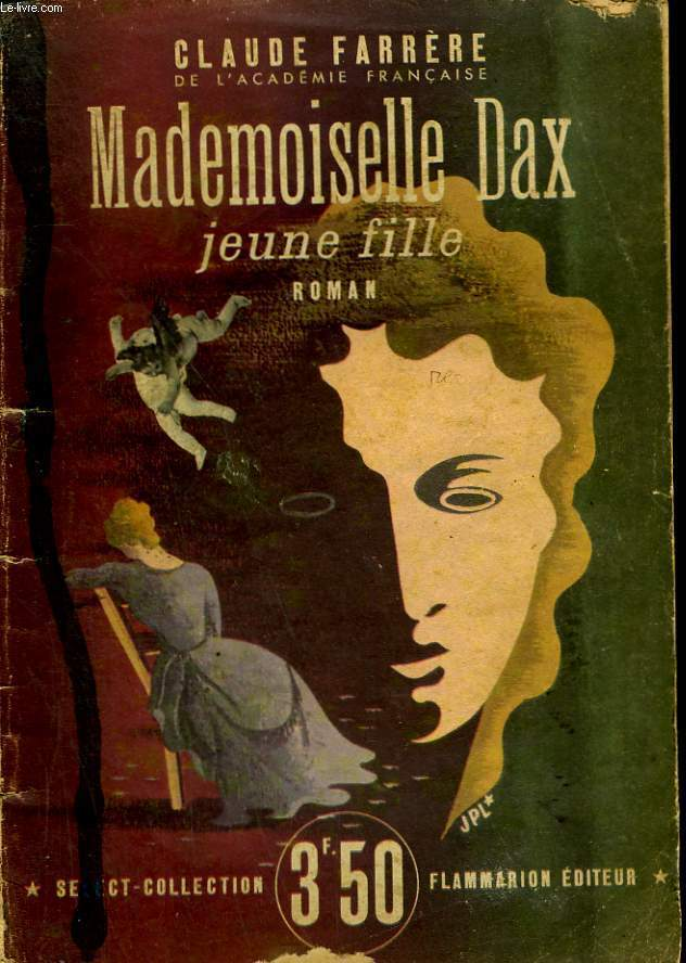 MADEMOISELLE DAX JEUNE FILLE. COLLECTION : SELECT COLLECTION N° 33