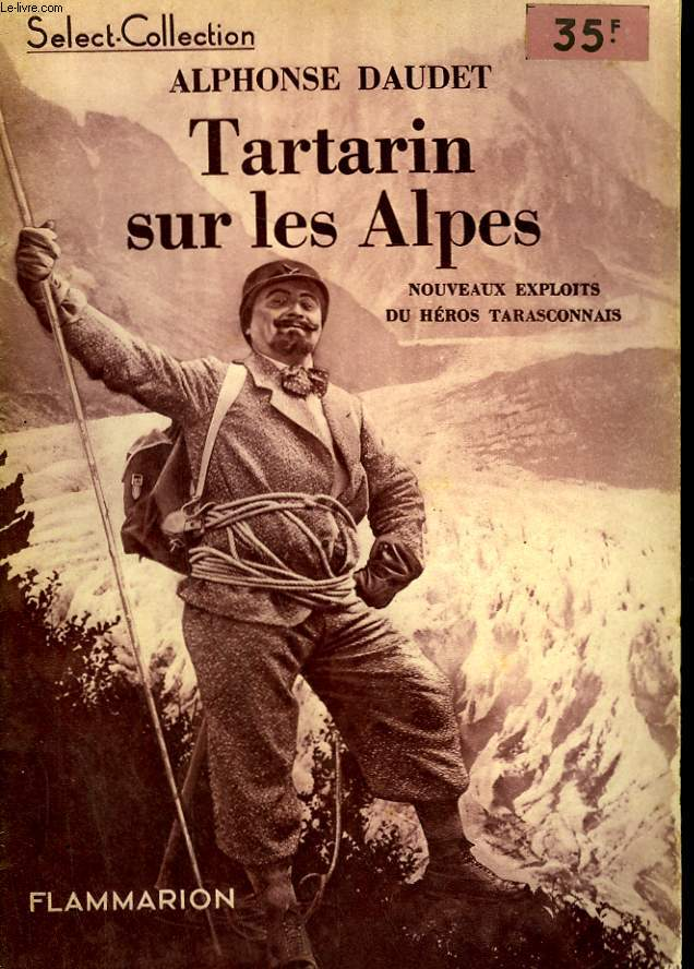 TARTARIN SUR LES ALPES. COLLECTION : SELECT COLLECTION N° 67