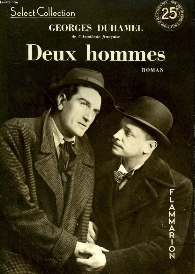 DEUX HOMMES. COLLECTION : SELECT COLLECTION N° 104.