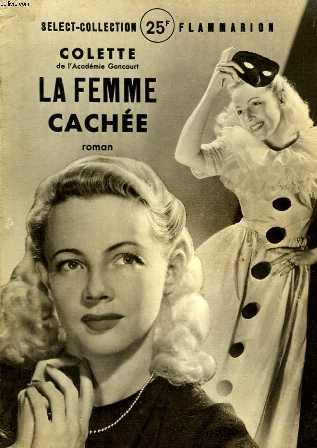 LA FEMME CACHEE. COLLECTION : SELECT COLLECTION N° 199