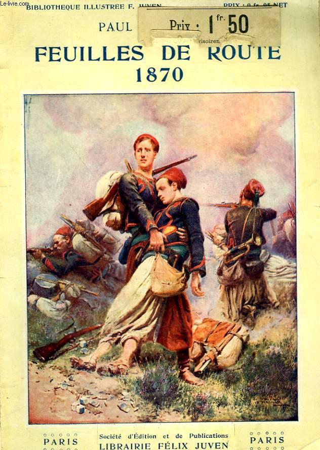 1870. FEUILLES DE ROUTE. DES BOIS DE VERRIERES A LA FORTERESSE DE BRESLAU.