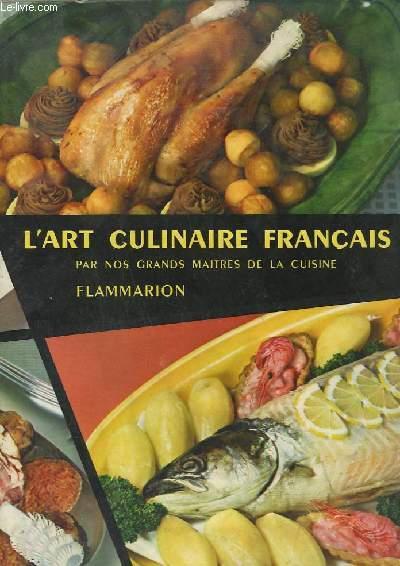 L'ART CULINAIRE FRANCAIS.