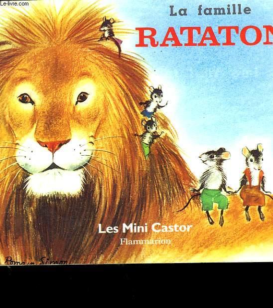 LA FAMILLE RATATON. LES MINI CASTOR.
