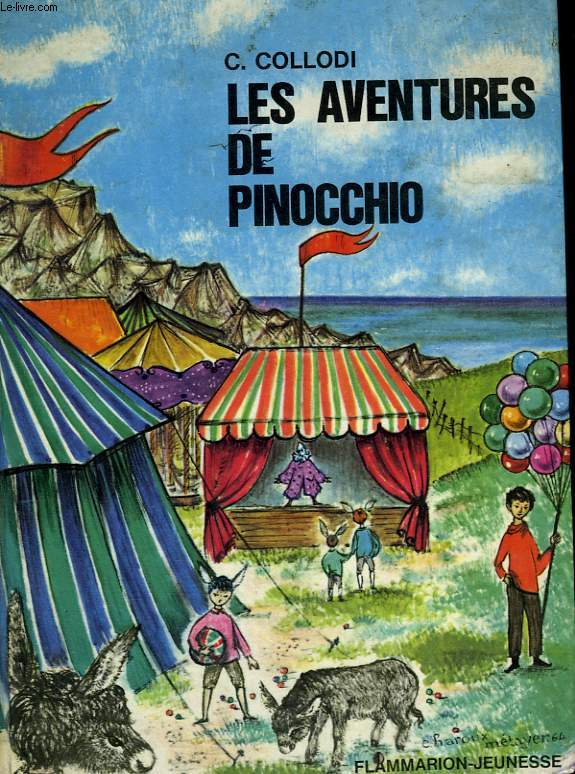 LES AVENTURES DE PINOCCHIO. COLLECTION : FLAMMARION JEUNESSE N° 29