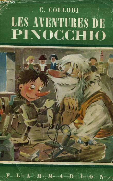 LES AVENTURES DE PINOCCHIO. COLLECTION FLAMMARION N° 26