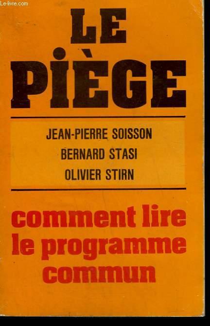 LE PIEGE.