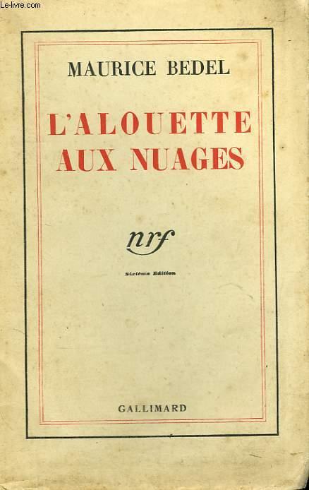 L'ALOUETTE AUX NUAGES.