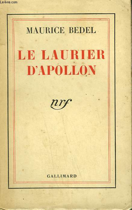 LE LAURIER D'APOLLON.
