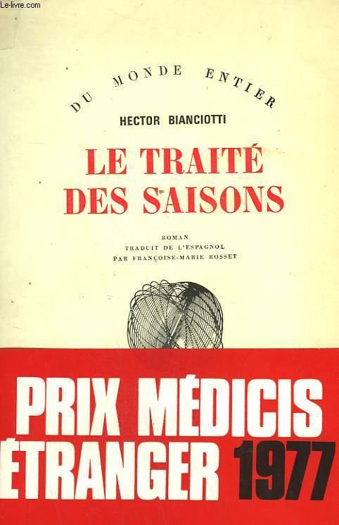 LE TRAITE DES SAISONS.