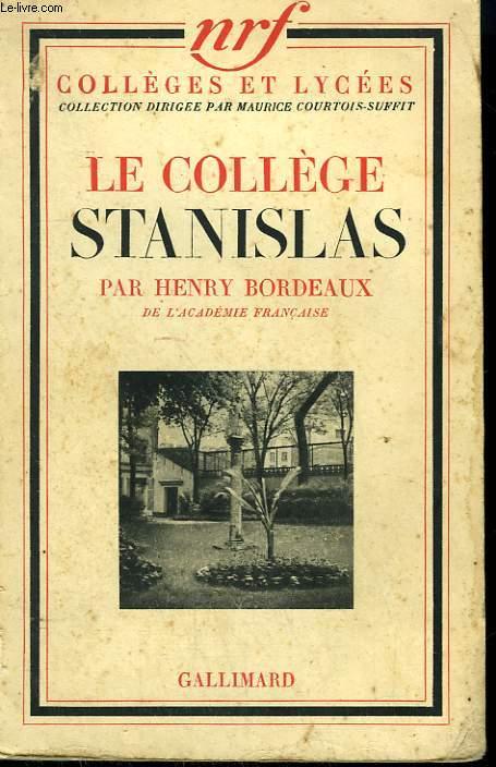 LE COLLEGE STANISLAS.