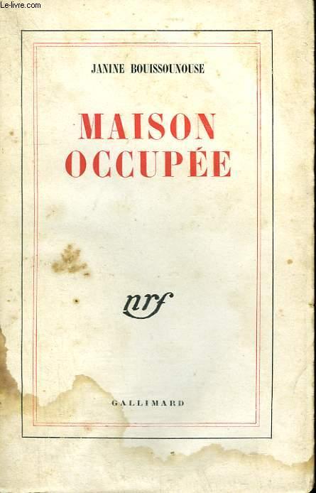 MAISON OCCUPEE.