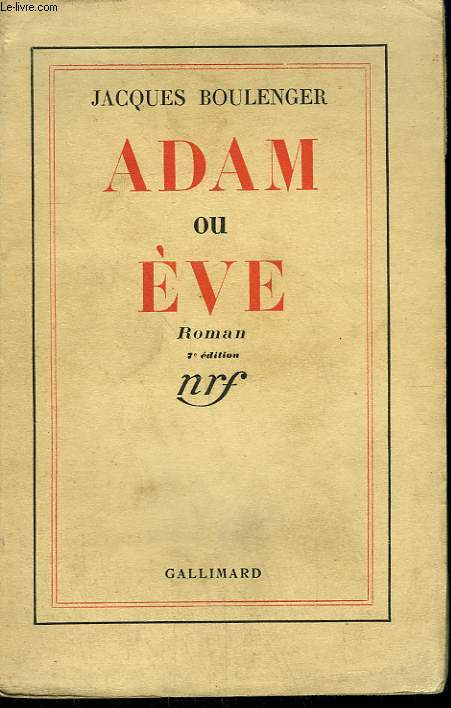 ADAM ET EVE.