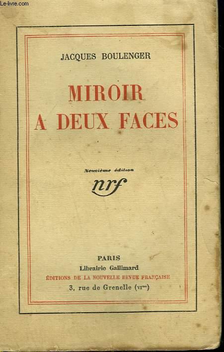 MIROIR A DEUX FACES.