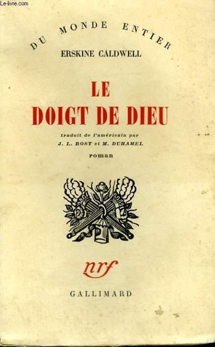 LE DOIGT DE DIEU. ( THE SURE HAND OF GOD ) .