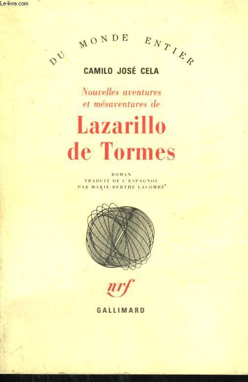NOUVELLES AVENTURES ET MESAVENTURES DE LAZARILLO DE TORMES.