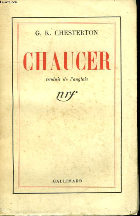 CHAUCER.