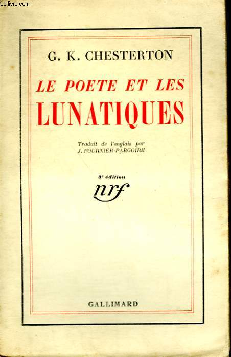LE POETE ET LES LUNATIQUES.( THE POET AND THE LUNATICS).