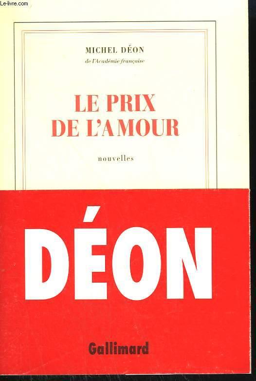 LE PRIX DE L'AMOUR.