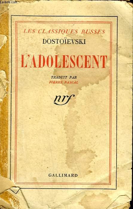 L'ADOLESCENT.