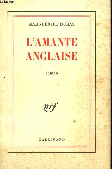 L'AMANTE ANGLAISE.