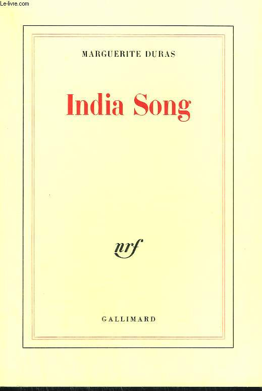 INDIA SONG.