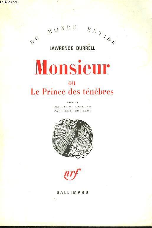 MONSIEUR OU LE PRINCE DES TENEBRES.