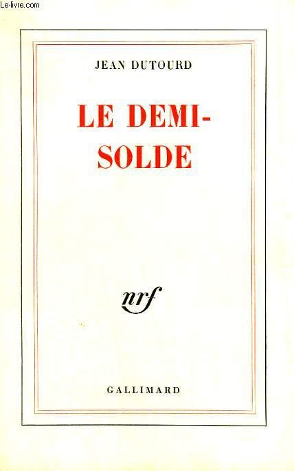 LE DEMI-SOLDE.