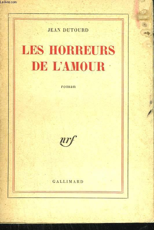 LES HORREURS DE L'AMOUR.