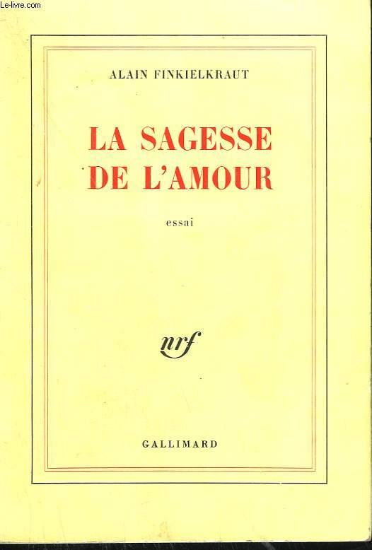 LA SAGESSE DE L'AMOUR.