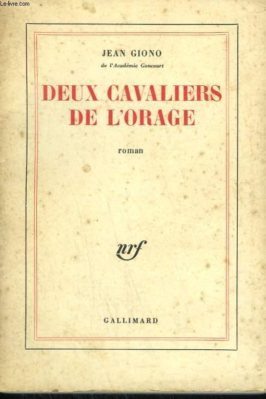 DEUX CAVALIERS DE L'ORAGE.