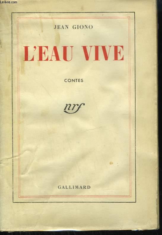 L'EAU VIVE.