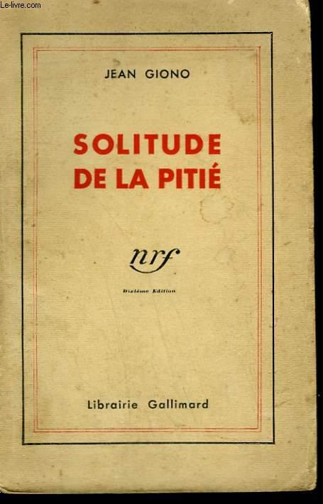SOLITUDE DE LA PITIE.