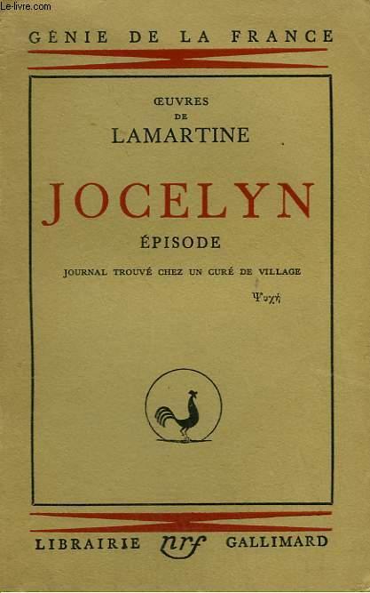 OEUVRES DE LAMARTINE. JOCELYN. EPISODE.