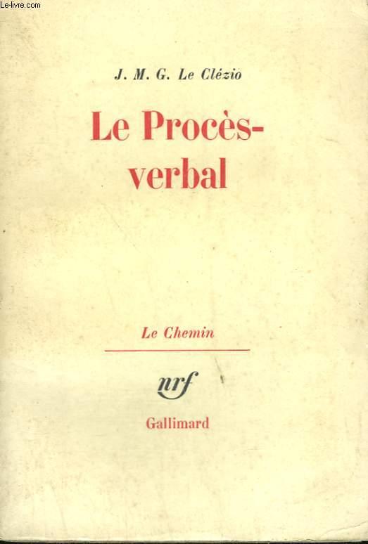 LE PROCES VERBAL.