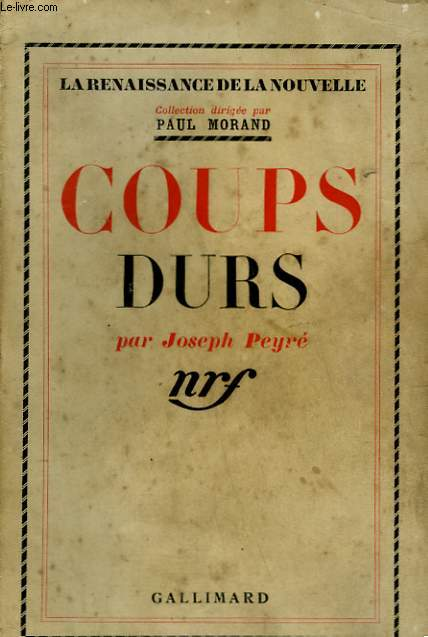 COUPS DURS.