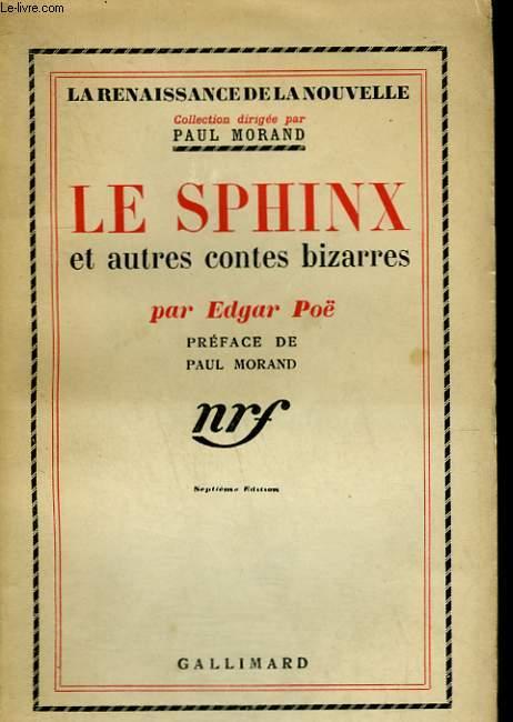 LE SPHINX ET AUTRES CONTES BIZARRES.